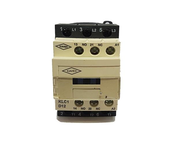 کنتاکتور کاوه مدل KLC1-D1211 ولتاژ بوبین 220V