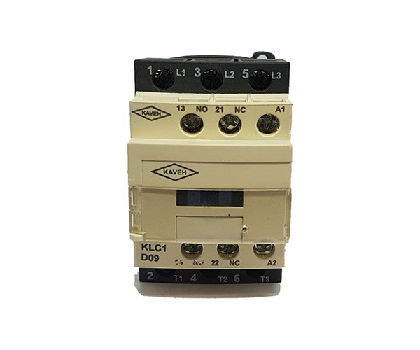 کنتاکتور کاوه مدل KLC1-D0911 ولتاژ بوبین 220V