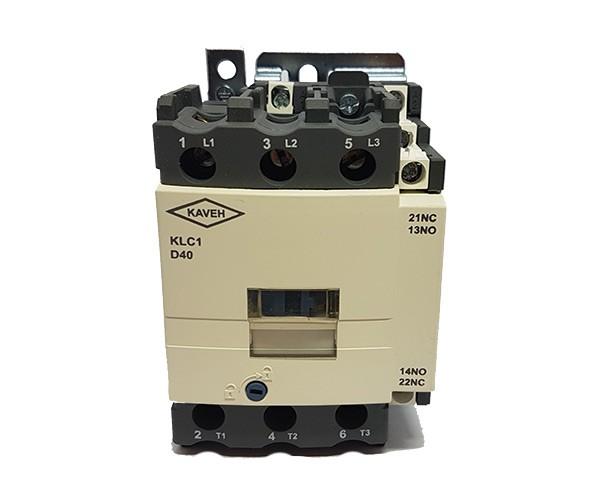 کنتاکتور کاوه مدل KLC1-D4011 ولتاژ بوبین 220V