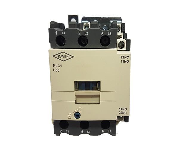 کنتاکتور کاوه مدل KLC1-D5011 ولتاژ بوبین 220V