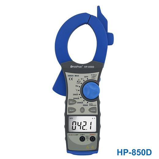 کلمپ متر 2000 آمپر AC و DC هولد پیک مدل HP-850D